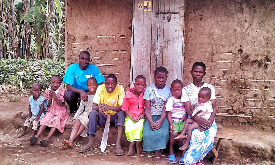 Micheal and some of the beneficiaries
