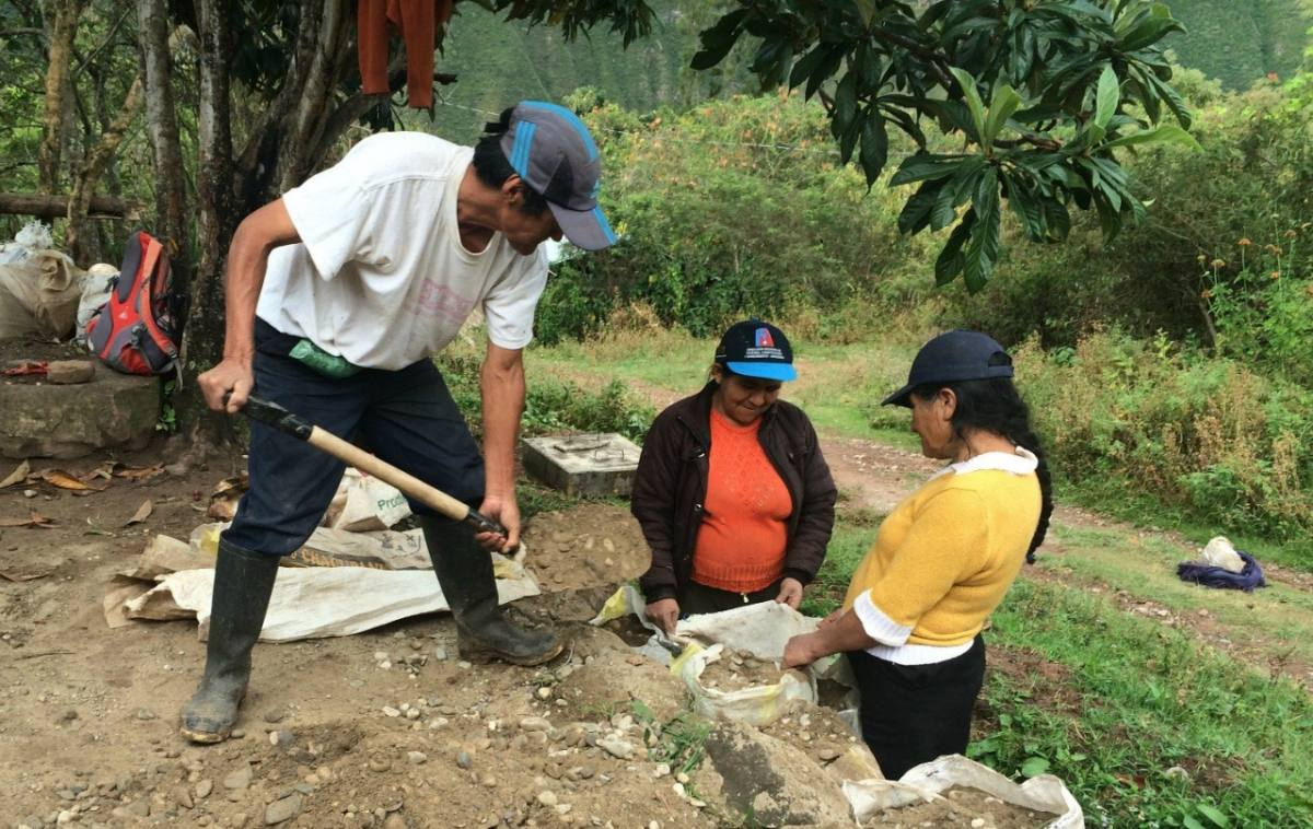 Conclusion of Colcamar Water Purification Project - Peru