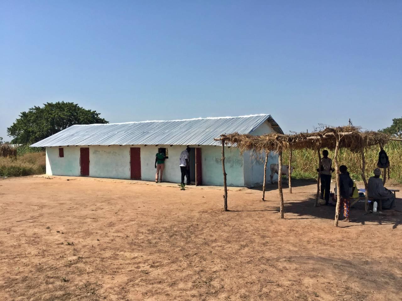 Njie Kunda Latrine Project - The Gambia