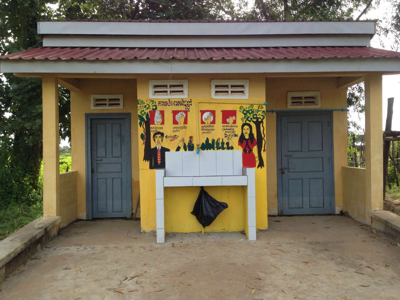 Conclusion of Meanchey Middle School Water Project - Cambodia