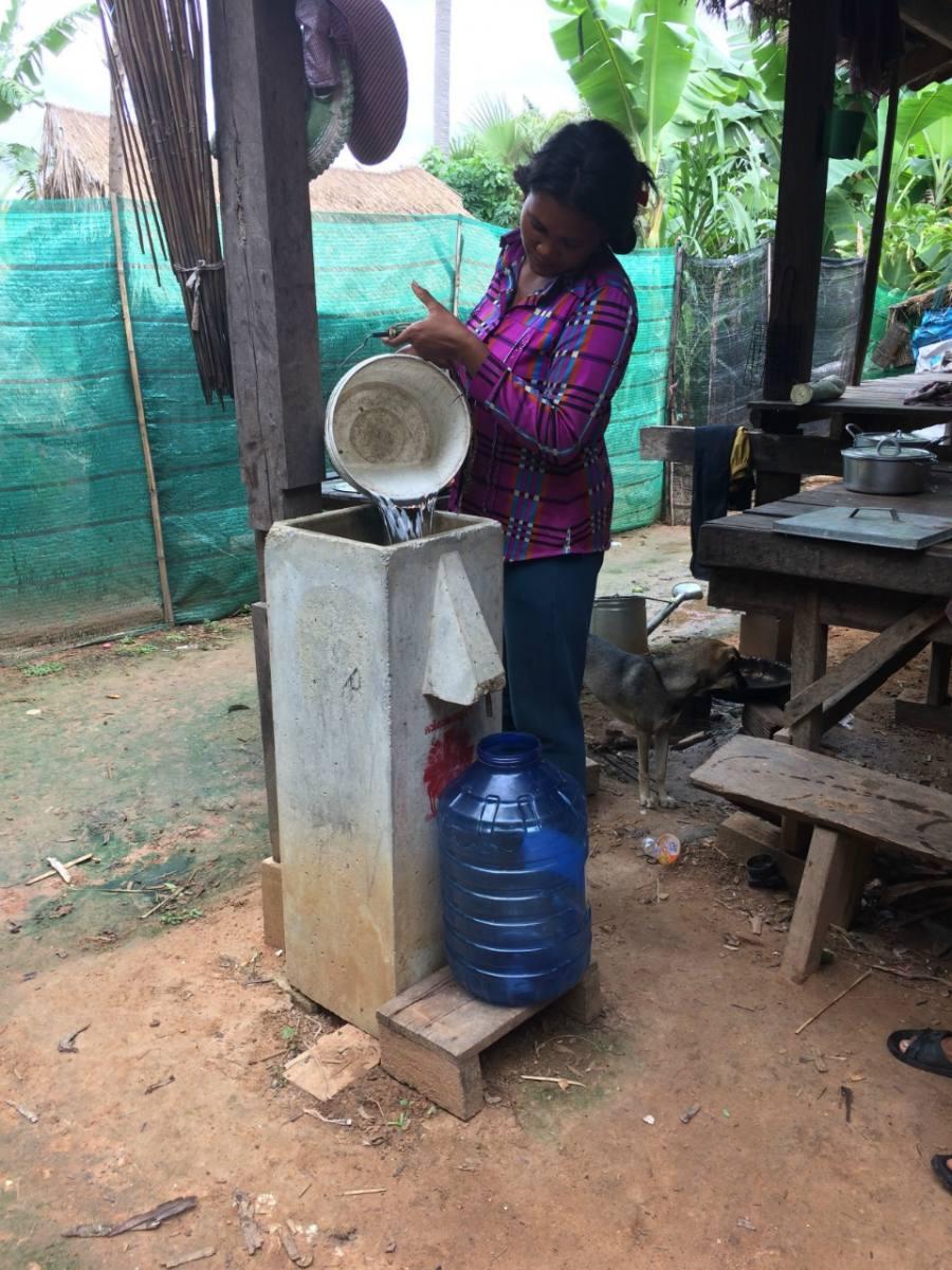 Svay Leu District Water Purification Project - Cambodia