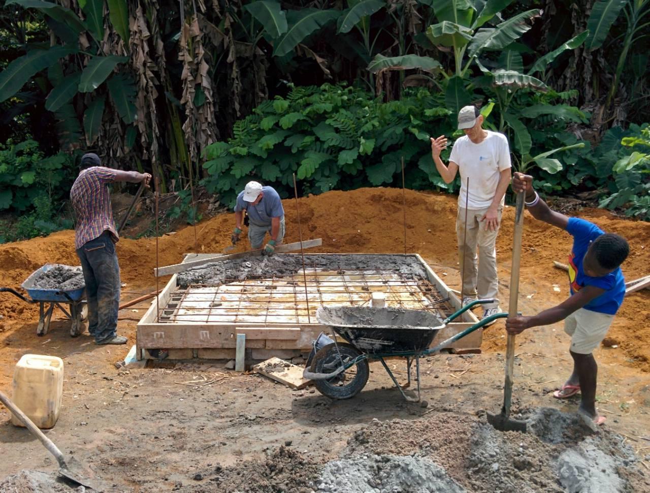 Conclusion of Doumandzou Primary School Bathroom Project - Gabon