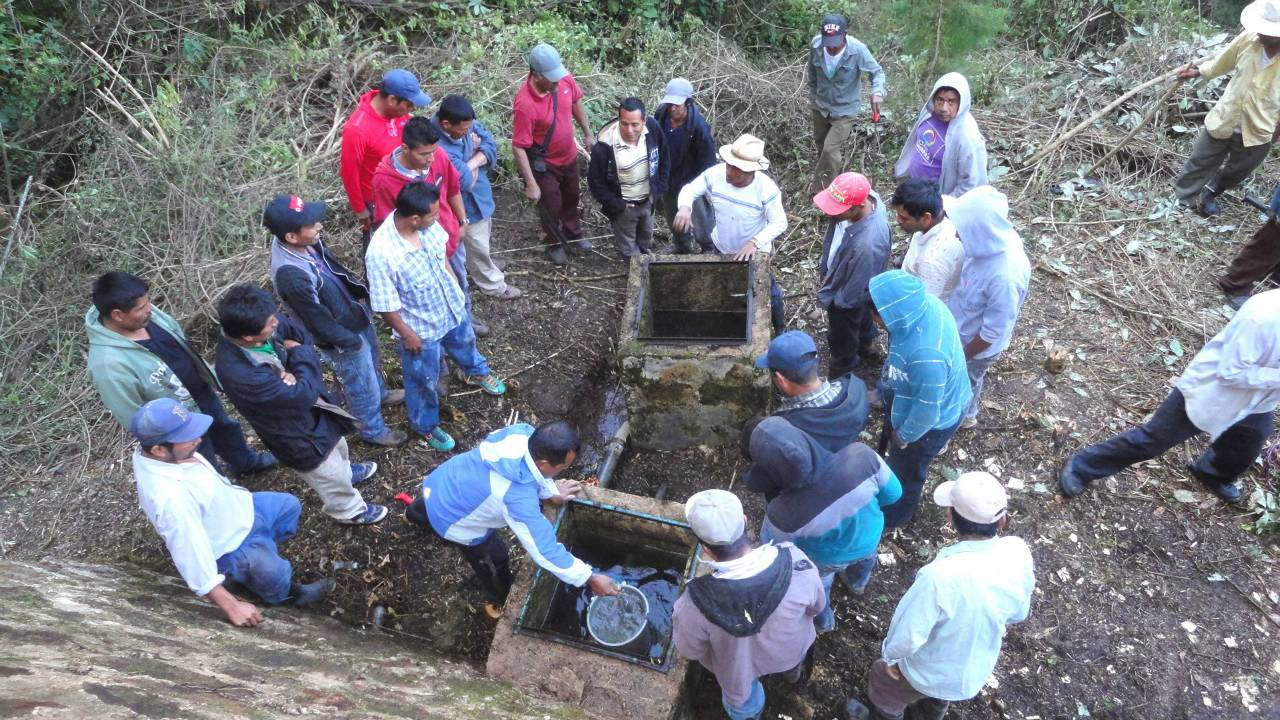 Santo Domingo La Cascada Water System Project - Mexico