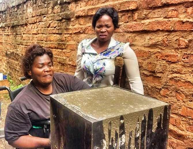 Democratic Republic of Congo, Filter making in Beni