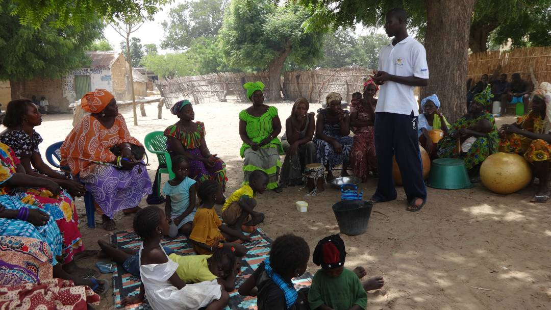 Conclusion of Health Hut of Guague Cherif Well Project - Senegal
