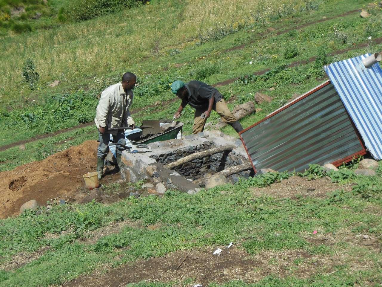 Conclusion of Sefateng Village Latrine Project - Lesotho