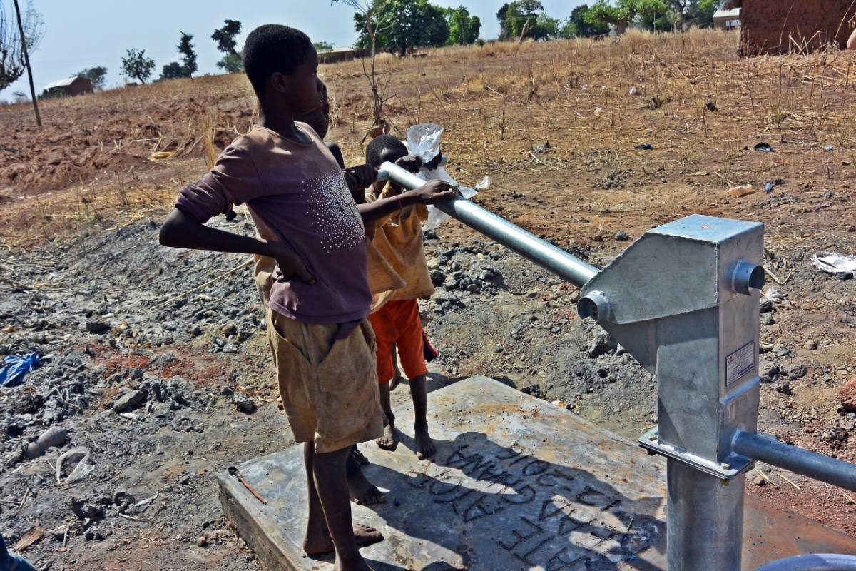 Conclusion of Yagha Borehole Project - Ghana