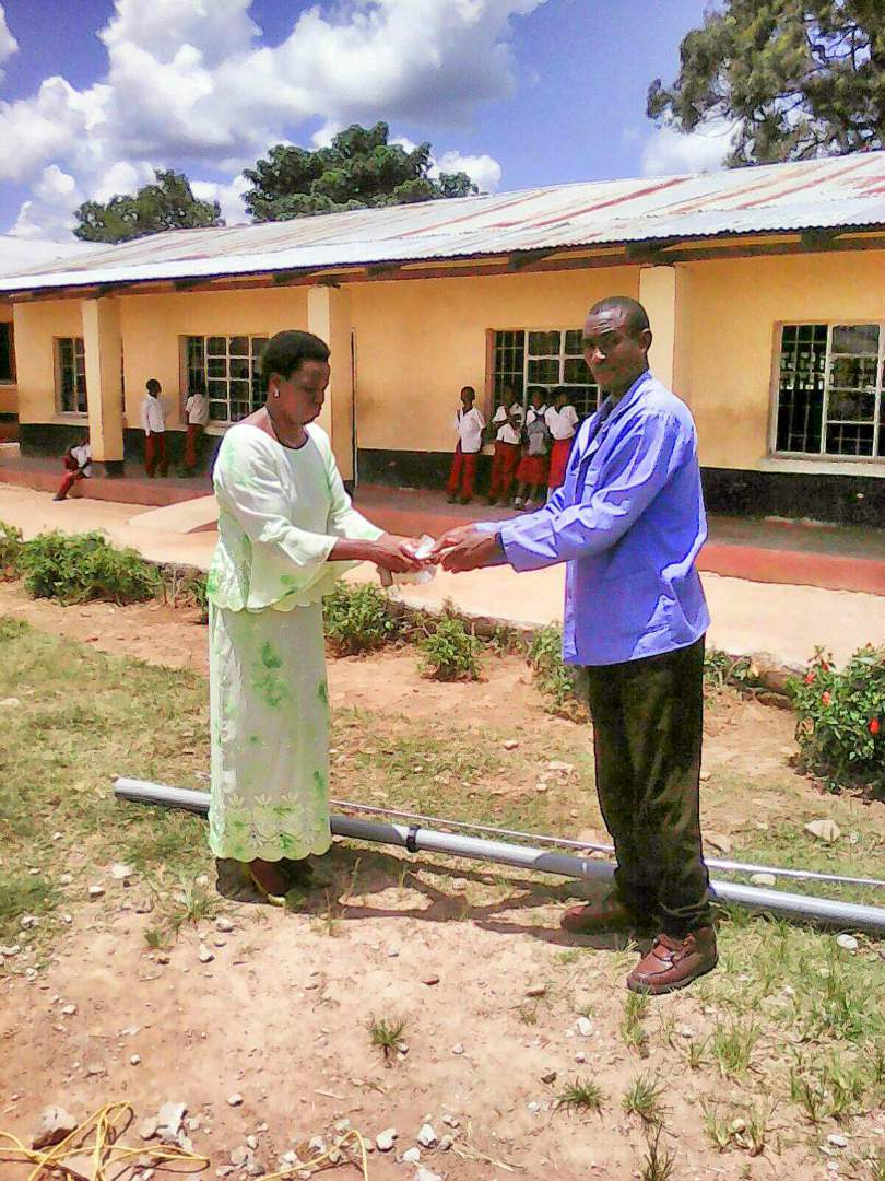 Teachers at Kaole Primary School