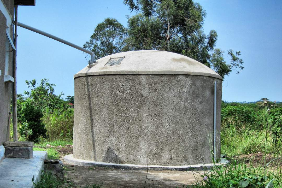 Catchment tank