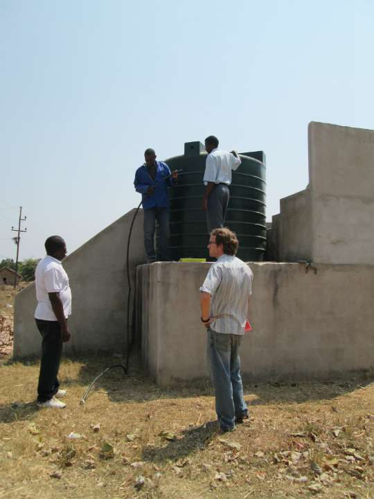 Mansa District Health Centers Pump Project - Zambia