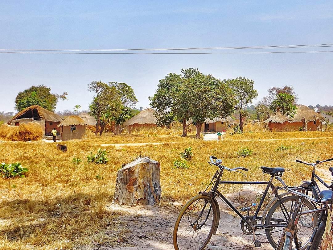bikes in the village