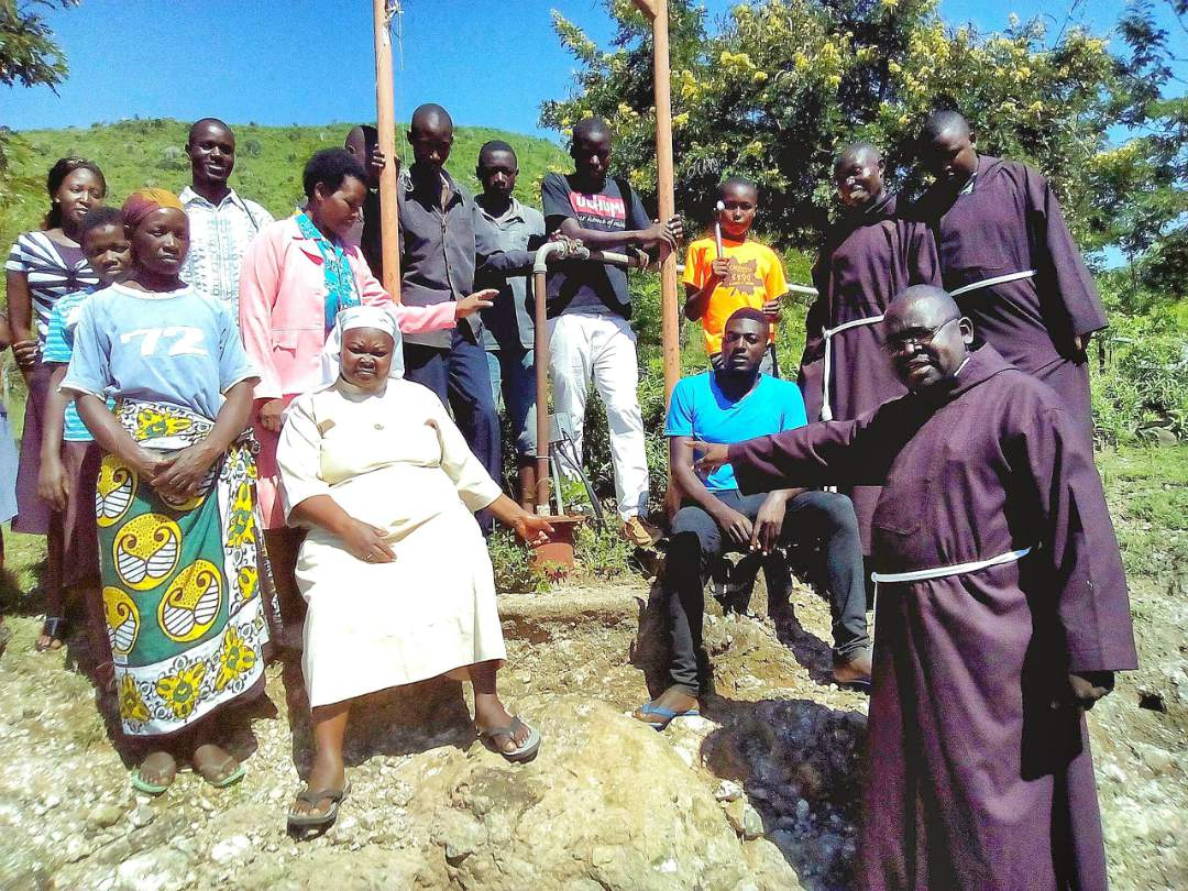 They are the parish priest, Robert Sewe, Sister Ann, children from the hill, teachers, cooks and   residents and local youths.