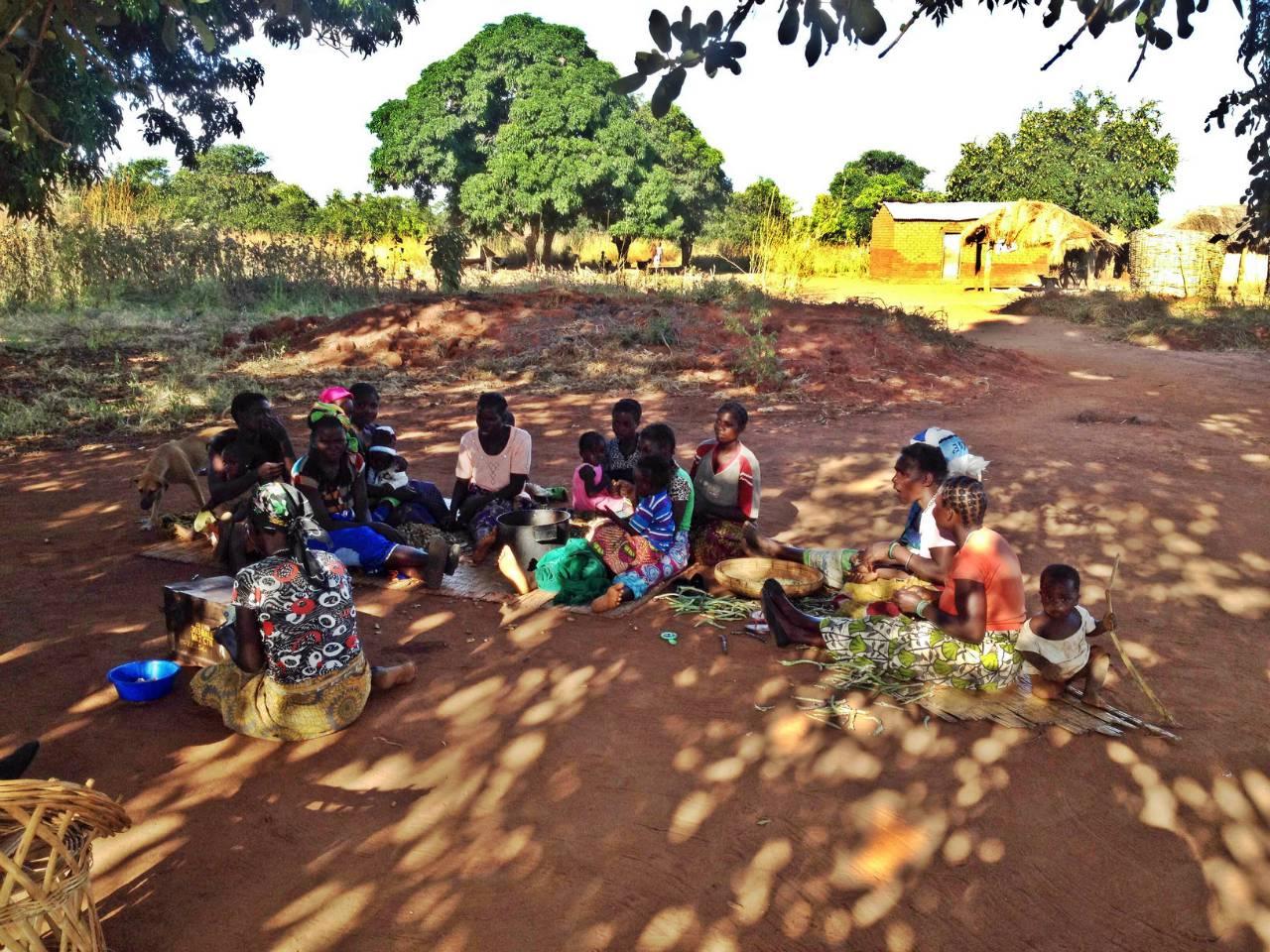 Chimdomba Borehole Project - Zambia