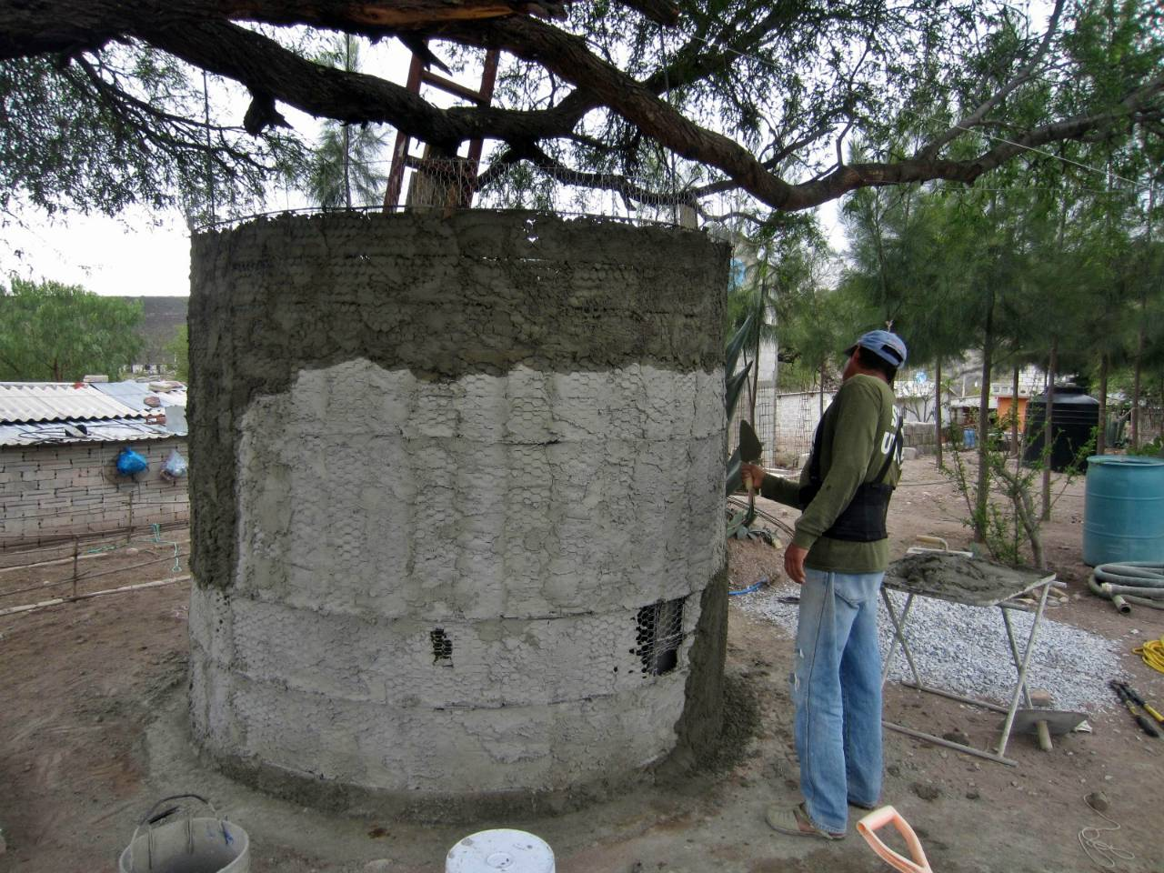 Conclusion of El Portugués Rainwater Harvesting Project - Mexico