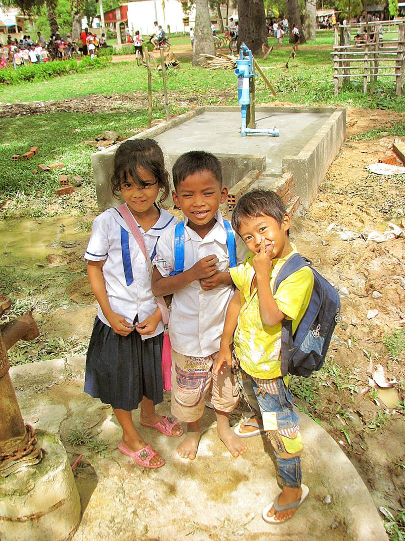 Conclusion of Kampong Trach Primary School Pump Project - Cambodia
