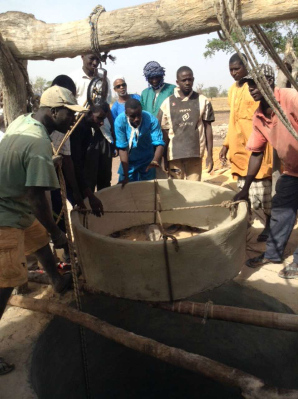 Conclusion of Sare Aladji Well Project - Senegal