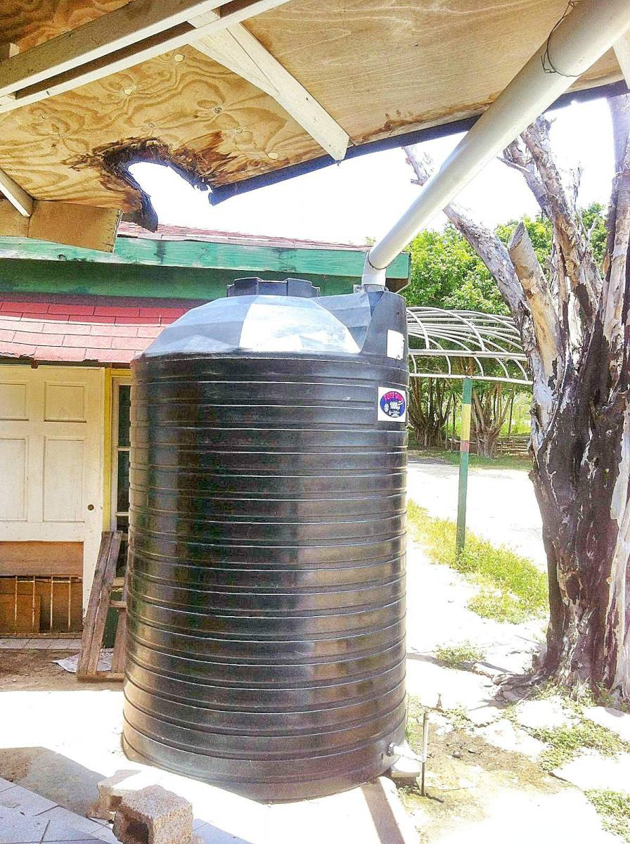 Water Tank, Jamaica Orphanage