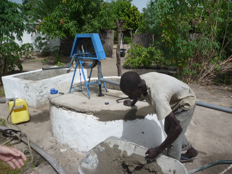 Conclusion of 52 Pumps in 52 Weeks – Senegal – Project 13 - Dassilame Serere Eco Campament Pump Expansion Project