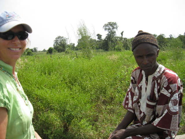 Conclusion of 52 Pumps in 52 Weeks – Senegal – Project 16 - Daro Keur Ibrahima Signane, Community Garden