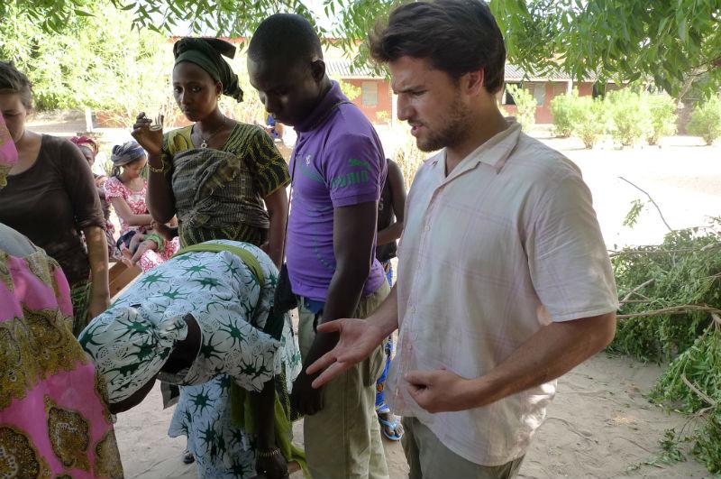 52 Pumps in 52 Weeks – Senegal – Project 17 – Faraba, Moringa Garden
