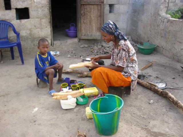 52 Pumps – Senegal – Project 21- Sincan Samba Koulibaly, Urban Garden