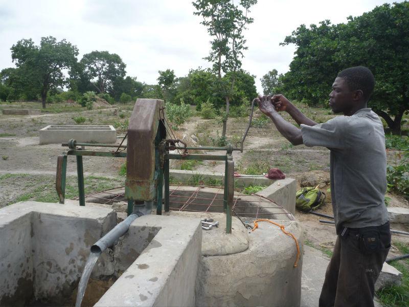 Conclusion of 52 Pumps in 52 Weeks – Senegal – Project 23 - Nema Bah, Pump Repair