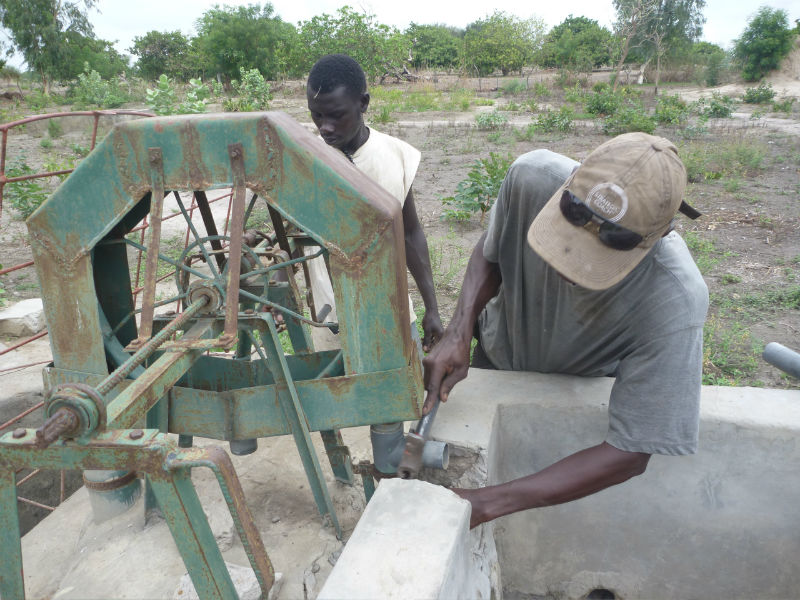 Conclusion of 52 Pumps in 52 Weeks – Senegal – Project 23 - Nema Bah, Pump Repair