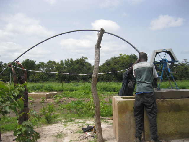 Conclusion of 52 Pumps in 52 Weeks – Senegal – Project 28 - Sare Salamata, Master Farm