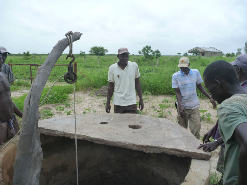 Conclusion of 52 Pumps in 52 Weeks – Senegal – Project 29 – Sippo, Community Garden Well