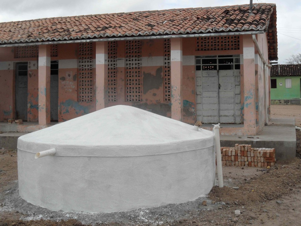 Conclusion of Picos Village Ferro-Cement Tank and Rainwater Catchment Project – Brazil