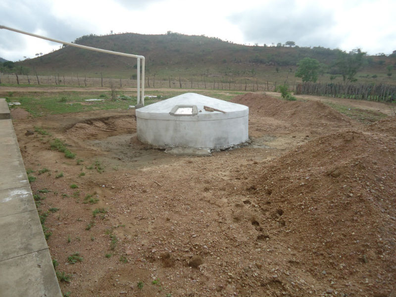 Conclusion of Ponta Baixa Ferro-Cement Tank and Rainwater Catchment Project – Brazil
