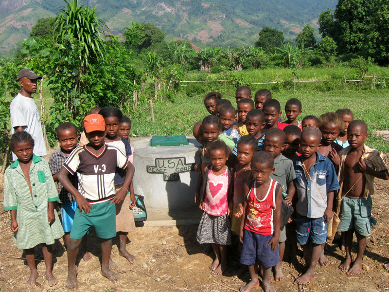 Conclusion of Antanandava, Anamboafo, and Marolamba Well Project - Madagascar
