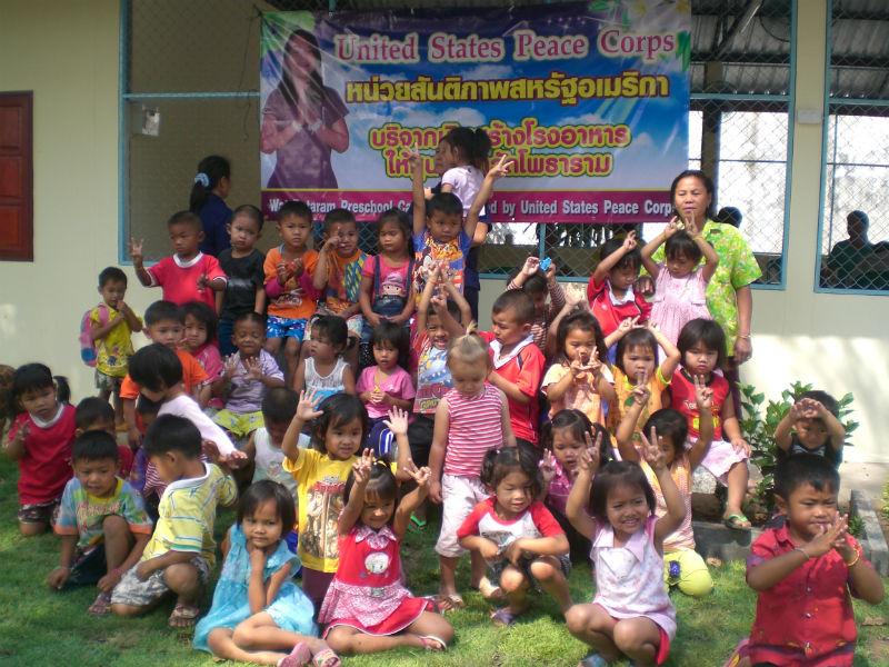 Conclusion of Wat Potaram Pre-School Cafeteria Project – Thailand