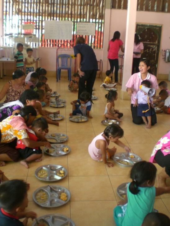Wat Potaram Pre-School Cafeteria Project – Thailand