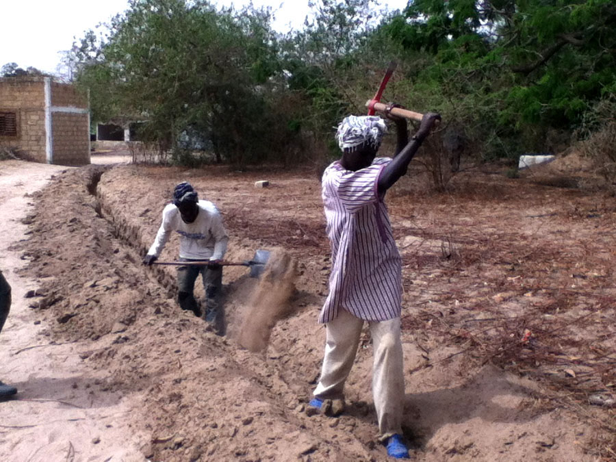 Conclusion of Keur Daouda Cisse Water System Project – Senegal