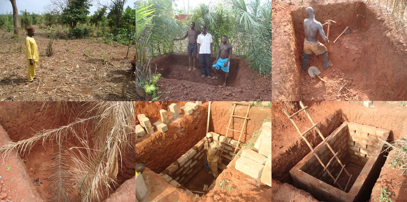 Latrine Building Project – Benin