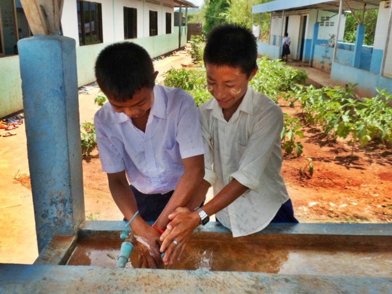 Conclusion of Future Garden School Water Project – Thailand