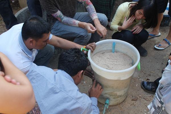 Kyarn Khin Migrant Community Bio-Sand Filter Project - Thailand