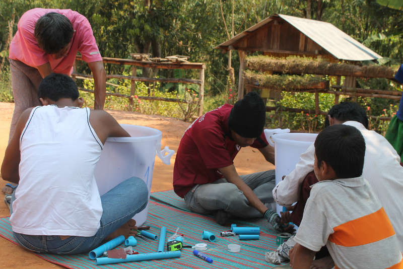 Conclusion of Kyarn Khin Migrant Community Bio-Sand Filter Project – Thailand