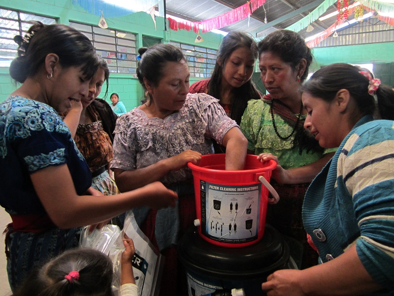 Conclusion of Sololá Water Filter Project, Phase 2 – Guatemala