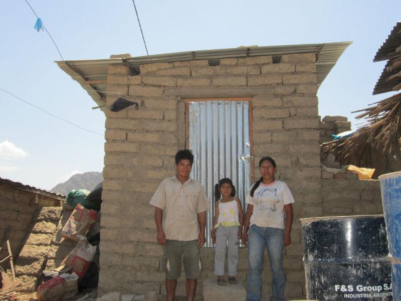Conclusion of Huabalito and La Botella Bathroom Project – Peru