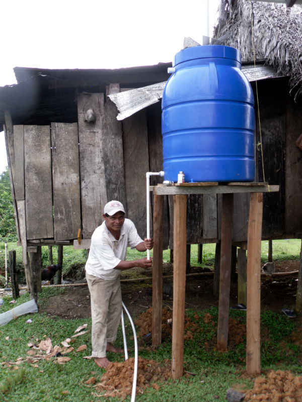 Conclusion of Punta Sirain Water System Project – Panama