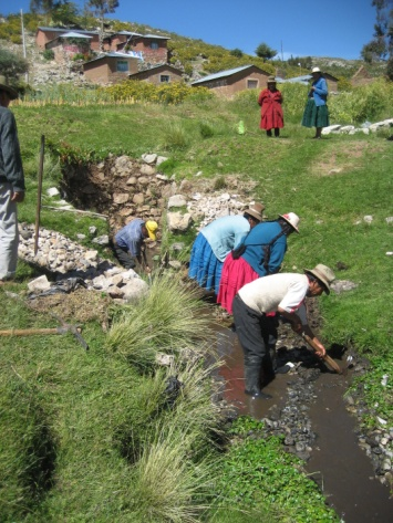 Conclusion of Parina Community Spring Project – Peru