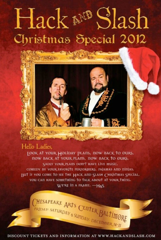 Hack and Slash Christmas Special 2012