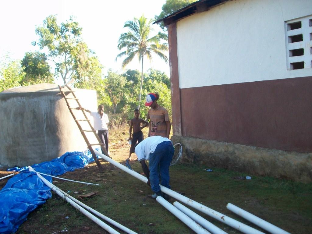 Conclusion of Acul des Pins Ferro-Cement Tank Project – Haiti
