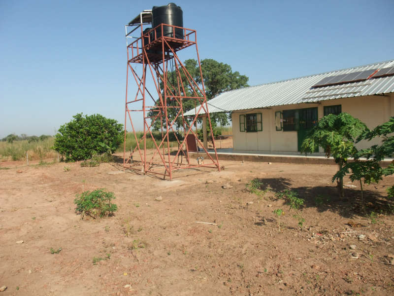 Njoben Health Clinic Water Project – The Gambia