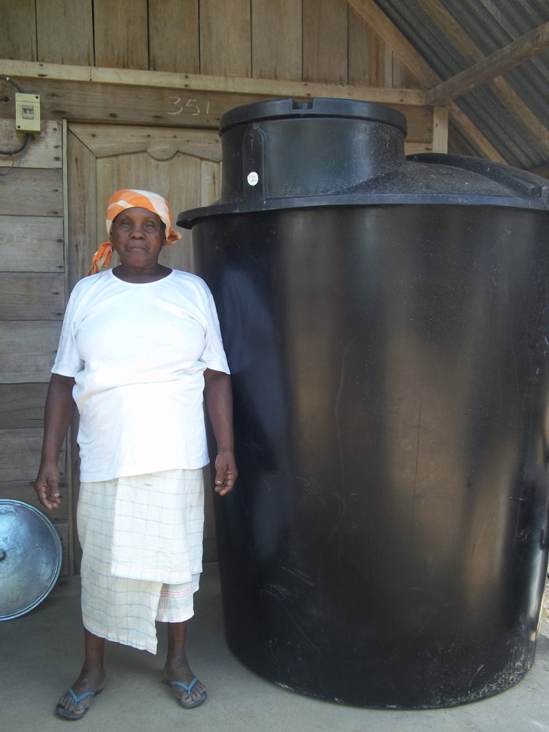 Conclusion of Bendikwai Rainwater Harvesting and Storage Project – Suriname