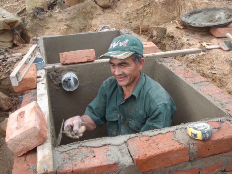 Conclusion of Naranjo Dry Bathroom Project – Peru