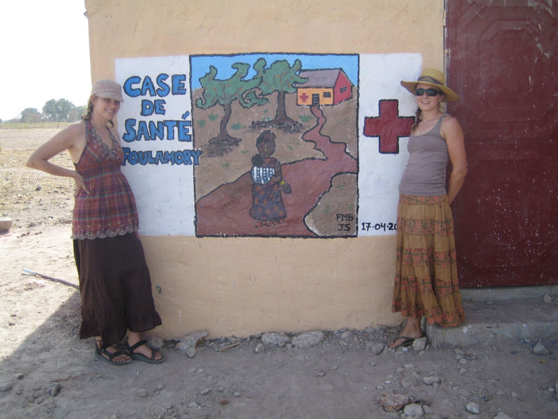 Olivia Kenna, PCV - Community Health Hut Construction Project – Senegal