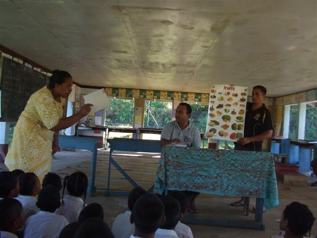 Vaipu'a and Fogasavaii Primary School Fruit Tree Project - Samoa